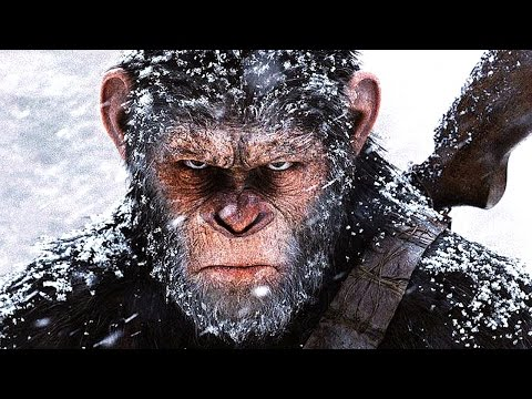WAR FOR THE PLANET OF THE APES Movie...