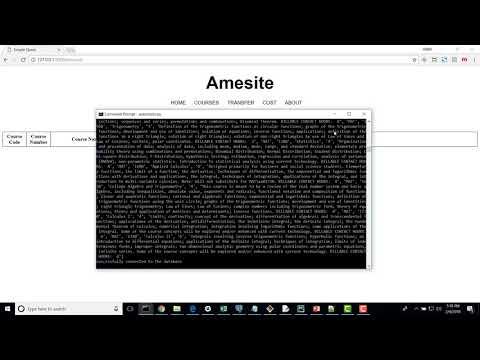amesite 03 - math course aggregator - prototype 1 presentation video