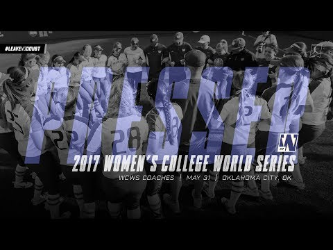 Softball: WCWS Opening Press Conference
