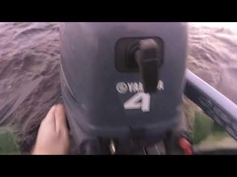 лодочный мотор yamaha 4AFHS (4 л.с. 4 такта)