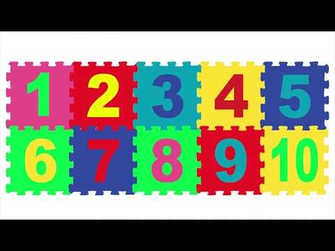 GIOCA e IMPARA i NUMERI coi PUZZLE per BAMBINI | Impara l'italiano | Learn italian