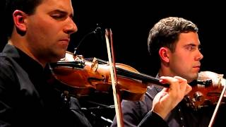 """Sleep safe and warm"" (K.Komeda) - Atom String Quartet"