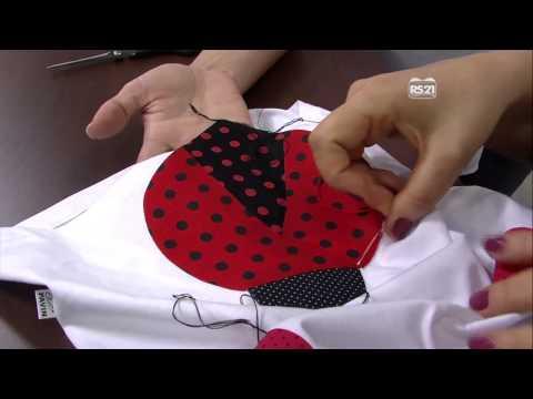 Mulher.com 22/08/2013 Lisa Vernaschi - Aplicação de joaninha em camiseta Parte 2/2