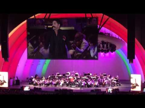 "John Stamos as Chef Louie ""Les Poissons"" - Little Mermaid Hollywood Bowl concert 2016"