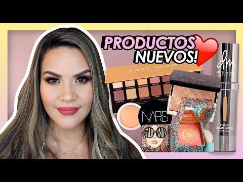 Probando lo NUEVO / Maquillaje con 1ras impresiones | Mytzi Cervantes