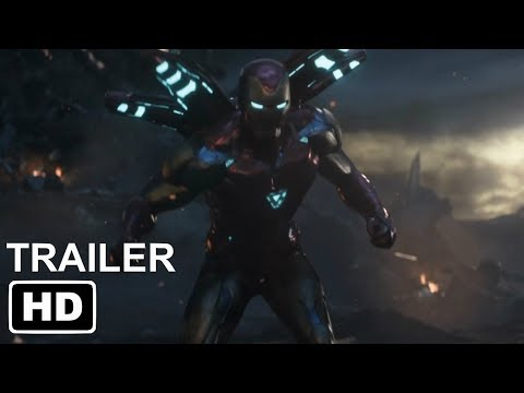 """NEW OFFICIAL AVENGERS ENDGAME IRON MAN MARK 85 TRAILER """"TO THE END""""   NEW FOOTAGE"""