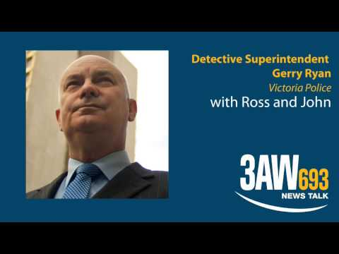 Detective Superintendent Gerry Ryan on Victoria's most wanted man