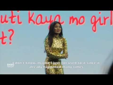 {ENG SUB} JaDine In Love in Araneta - Kiss or Answer?