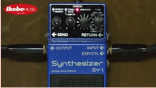 BOSS SY-1 Synthesizer All 121 Sounds Sample Vol.1