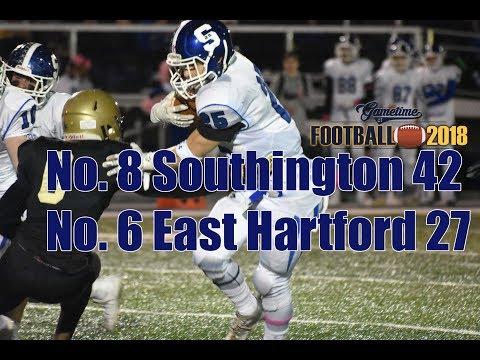 Week 8: No. 8 Southington 42, No. 6 East Hartford 27 Football