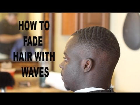 How To Skin Fade With Waves Tutorial Cutting Hair With The Grain