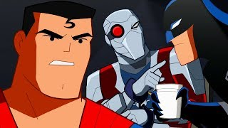 Justice League Action   良い警官と悪い警官   Webisode 4