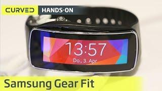 Samsung Gear Fit im Hands-on | deutsch