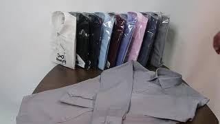 레디핏 슬림핏 라이트그레이 긴팔 슬림 와이셔츠-RF10…