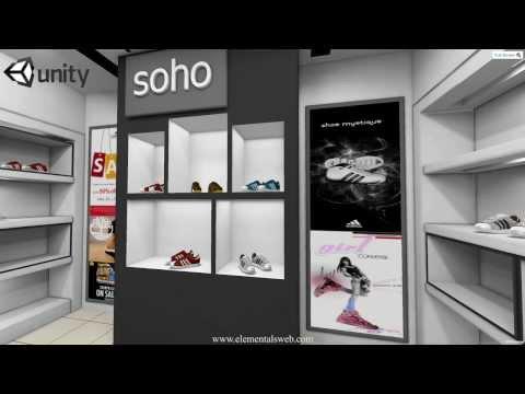 Online 3d virtual store