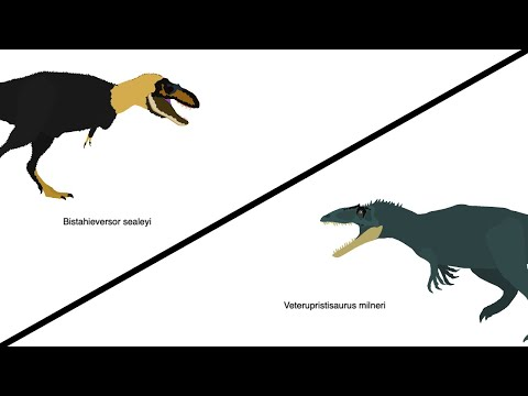 SB14BA - Bistahieversor vs Veterupristisaurus