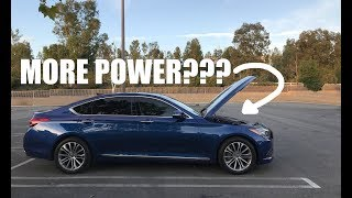 More Power on your Genesis Sedan G80 from factory? Giveaway Alert