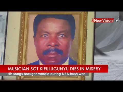 Musician Sgt  Kifulugunyu dies in misery
