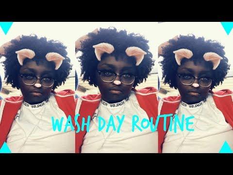 WASH DAY ROUTINE