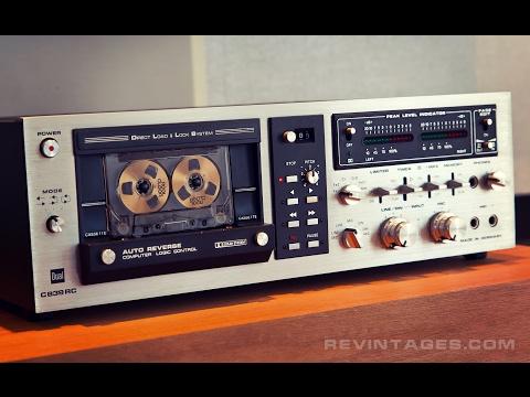 Dual Cassette Deck Demo