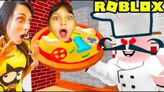 ВАЛЕРИШКУ хотят СЪЕСТЬ! Не ходите в ПИЦЦЕРИЮ Роблокс Roblox Escape The Evil Pizzeria Obby! Валеришка