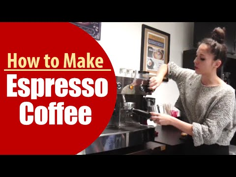 How To Make Espresso Using A Coffee Machine