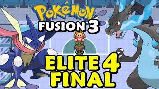 Pokemon Fusion 3 (Detonado -  Parte 17) - ELITE 4: Parte Final