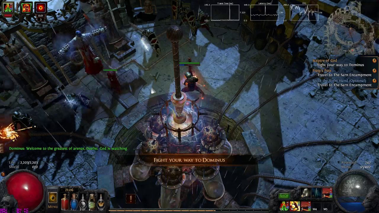 Lacerate Build Poe