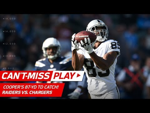 Derek Carr Tosses a TD Bomb to Amari Cooper for 87 Yards! | Can