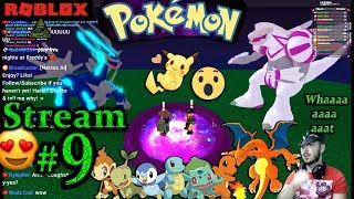 POKEMON en ROBLOX Ch.#8, 1a vez jugando PC (Max Graphics) #9th Stream