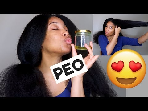 Grow Your Hair FASTER and THICKER with PEO ! Tested and Approved ✔