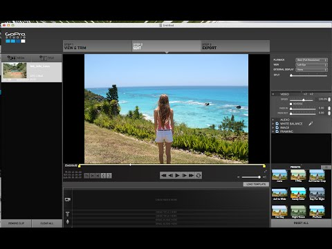 How to insert PICTURES in GoPro Studio Tutorial