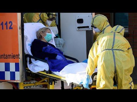 Coronavirus: en Espagne, 832 morts en 24h et des enterrements dans des conditions très difficiles