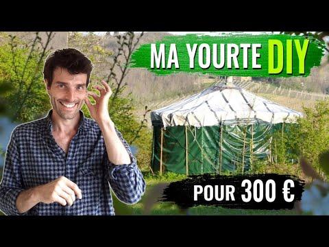 Fabriquer une yourte autonome pour 300€ - 1/9 Vivre en yourte