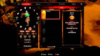 Diablo 3 Xbox 360 Stats of Tier 15 Gems Gemstones Vital Phalanx Ruthless Ruby Topaz