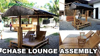 Bamboo Grove Furniture - Double Chase Lounge Deluxe Assembly