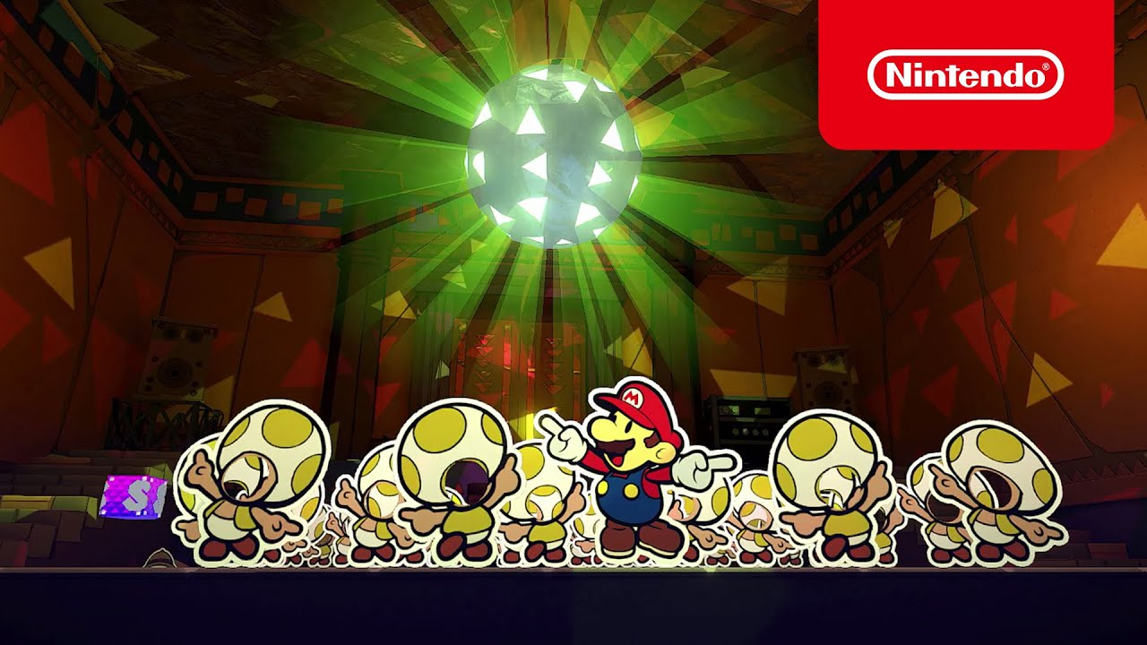 Die Rezensionen für Paper Mario: The Origami King sind da! (Nintendo Switch)