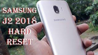 Samsung Galaxy J2 2018 Hard Reset
