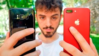 GALAXY S8 vs iPHONE 7 PLUS, ¡COMPARATIVA a fondo en español!