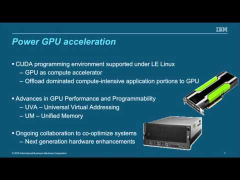 OpenPOWER Summit 2016 - Machine and Deep Learning on Power Systems