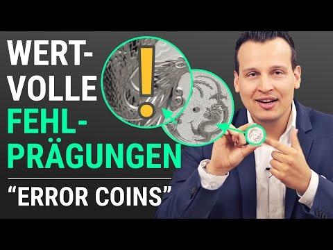 Seltene Silbermünze mit Fehlprägung (Error Coin) - Drache & Phönix 2017 (Dragon & Phoenix) 1 Unze