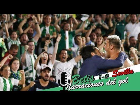 Betis 1-0 Sevilla (Liga 2018/19) | Narraciones del gol de Joaquín