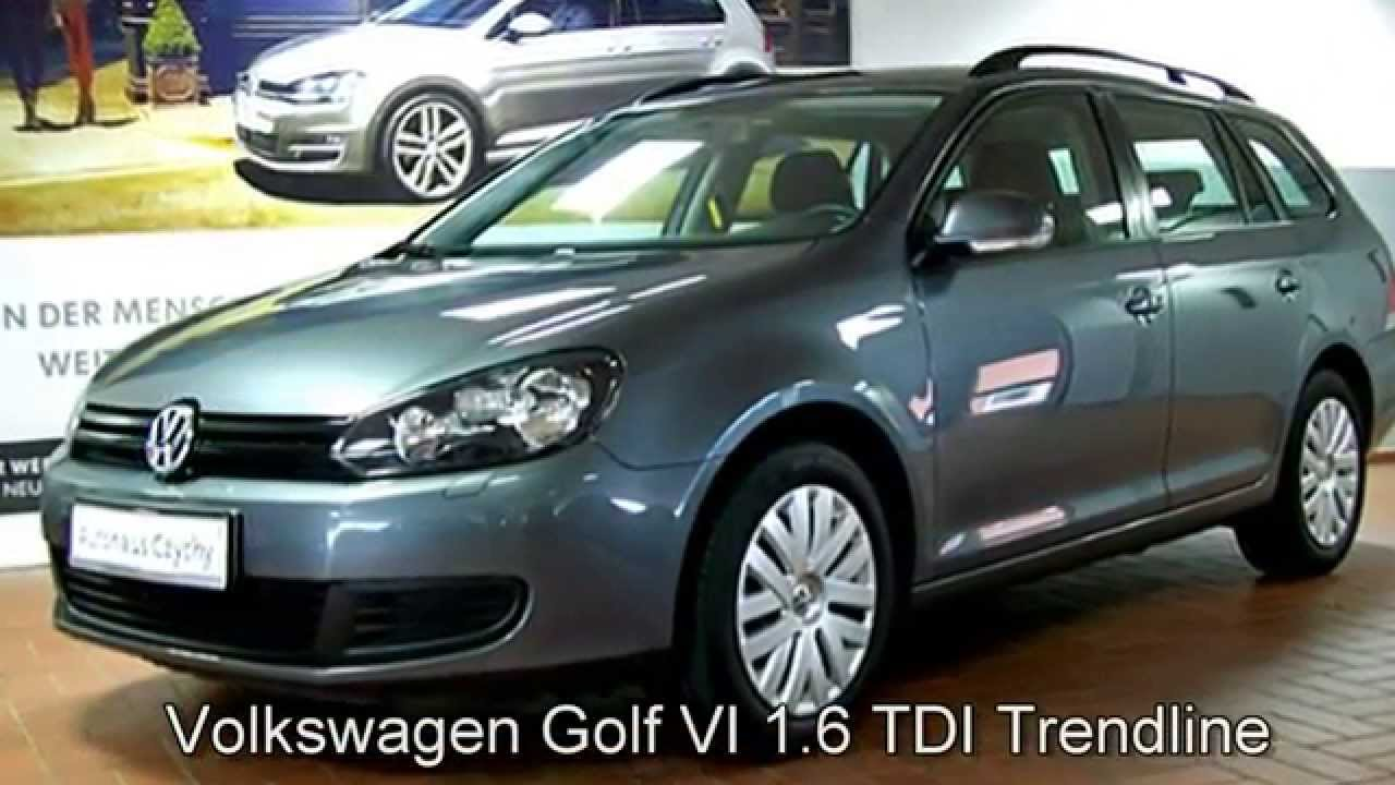 volkswagen golf vi variant 1 6 tdi dpf trendline cm600465. Black Bedroom Furniture Sets. Home Design Ideas