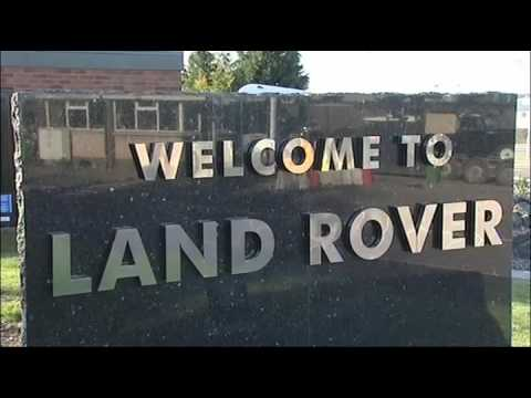 Land Rover Solihull Plant Factory Footage