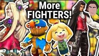 Hints to MORE Newcomer & Echo Fighters!! Super Smash Bros Ultimate
