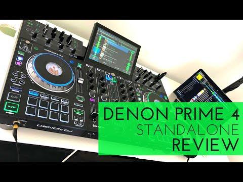 DENON DJ Prime 4 Standalone Workstation | REVIEW