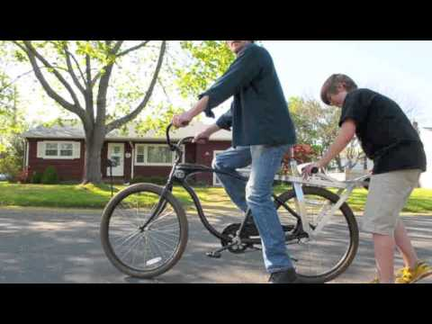 Rethinking the Bicycle-for-Two: Jared Loveless's Folding scooteRack