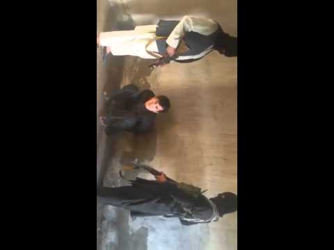 Taliban video shows captured shehzad.