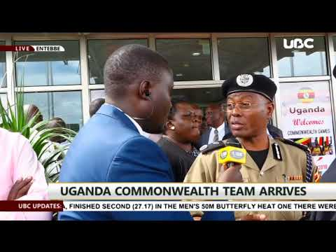 Uganda's gold medalists at commonwealth games return in style