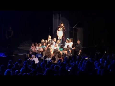 11-Year-Old Boy Becomes A Star After Singing 'Let It Go' at Idina Menzel Concert